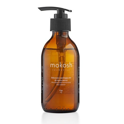 Mokosh – Odżywczo – nawilżający żel do mycia twarzy Figa 200ml