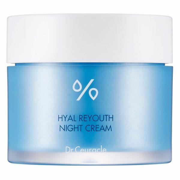 Dr.Ceuracle – Hyal Reyouth Cream – Intensywnie nawilżający krem do twarzy na noc