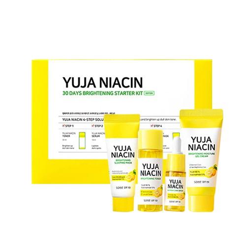 Some by Mi – Yuja Niacin 30 day Brigghtening Starter kit – Zestaw rozjaśniający do twarzy