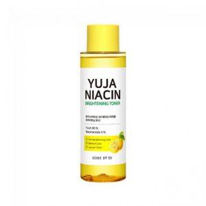 Some by mi – Yuja Niacin Brightening Toner  – Rozjaśniający toner z 5% Niacynamidem 150ml