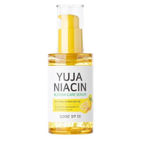 Some By Mi – Yuja Niacin 30 Days Blemish Care Serum – Serum Rozjaśniające Przebarwienia z 5% Niacynamidem – 50ml