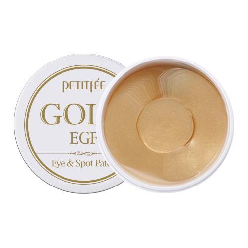 PETITFEE – Gold EGF Eye&Spot Patch – płatki hydrożelowe pod oczy z czynnikiem wzrostu  90 sztuk