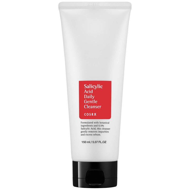 COSRX – Salicylic Acid Daily Gentle Cleanser – Żel do mycia twarzy z Kwasem Salicylowym – 150ml