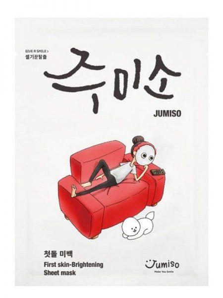 Jumiso – First Skin Brightening Mask – Rozjaśniająca maska w płachcie