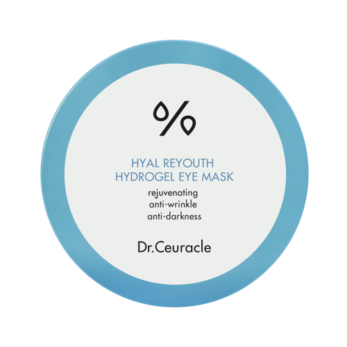 Dr.Ceuracle – Hyal Reyouth Hydrogel Eye Mask – Hydrożelowe płatki pod oczy 60sztuk