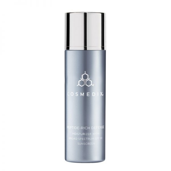 COSMEDIX – PEPTIDE-RICH DEFENSE Moisturizer with Broad Spectrum SPF 50 Sunscreen – Nawilżający krem SPF 50 z peptydami 50ml