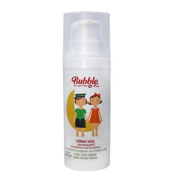 Bubble&Co – Organiczny Krem do Twarzy Dla Dzieci, 50 ml, 0m+