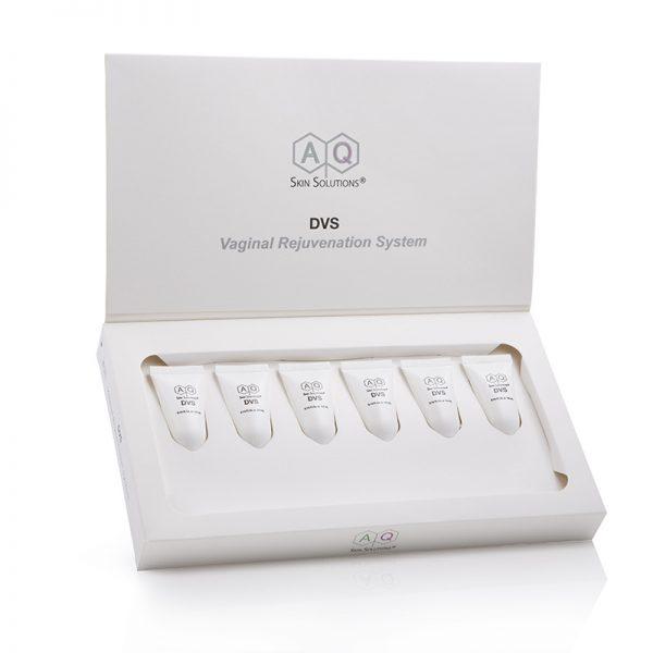 AQ SKIN SOLUTIONS Vaginal Rejuvenation System – System odmładzania pochwy z czynnikami wzrostu (6 x 4 ml)