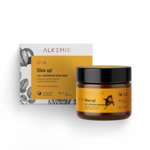 Alkemie – Glow Up 2 w 1 Peeling-maska z superowocami 60 ml