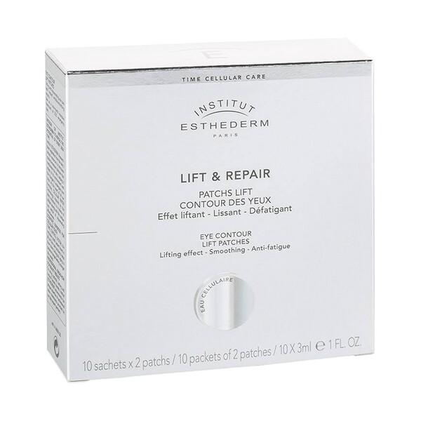 Esthederm – Lift & Repair – Płatki pod oczy o działaniu liftingującym, saszetki, 10×2 sztuk