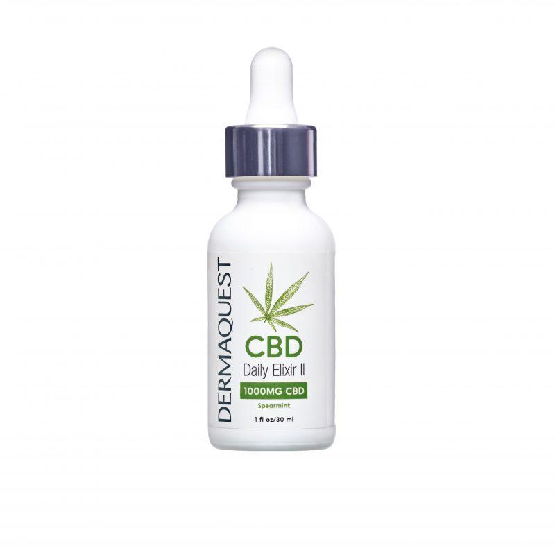 Dermaquest – CBD Daily Elixir II – Suplementacyjny eliksir dzienny dawka 1000mg 30 ml