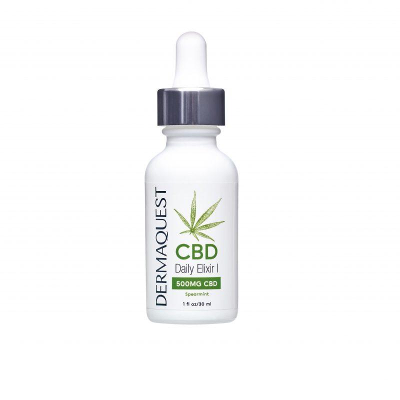 Dermaquest – CBD Daily Elixir I – Suplementacyjny eliksir dzienny dawka 500mg 30 ml