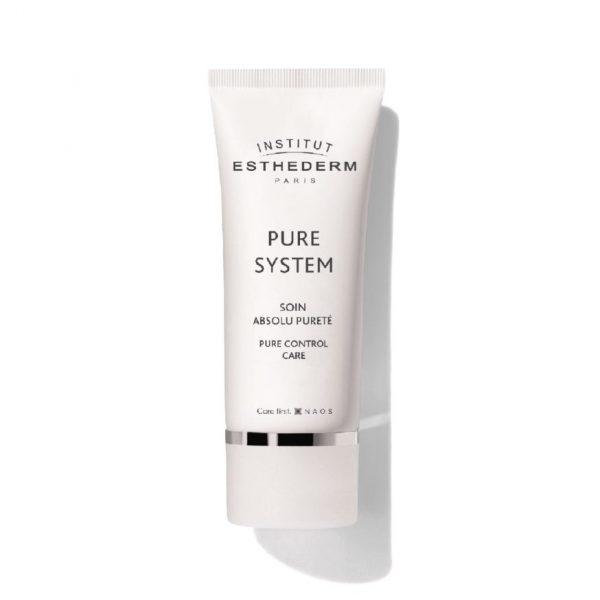 Esthederm – Pure Control Care Cream Krem oczyszczająco-matujący do skóry tłustej, mieszanej i problematycznej 50 ml