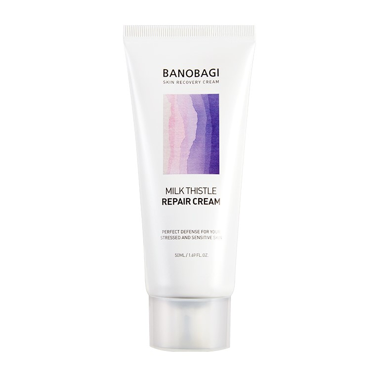 BANOBAGI – Milk Thistle Repair Cream- Krem naprawczy kojący z ostropestem dla skór wrażliwych 50ml