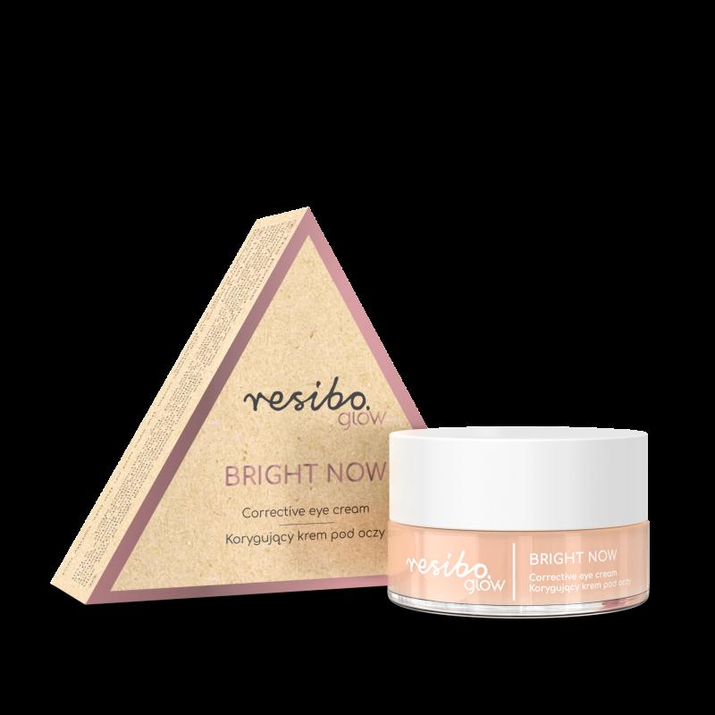 Resibo – Bright Now  Korygujący krem pod oczy 15ml
