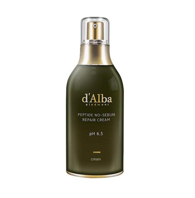 d'Alba – Peptide No-Sebum Repair Cream Krem przeciwzmarszczkowy regulujący wydzielanie sebum 50 ml
