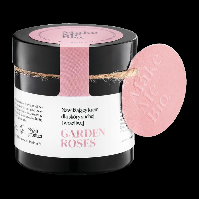 Make Me Bio – Garden Roses – Nawilżający Krem dla Skóry Suchej i Wrażliwej 60ml