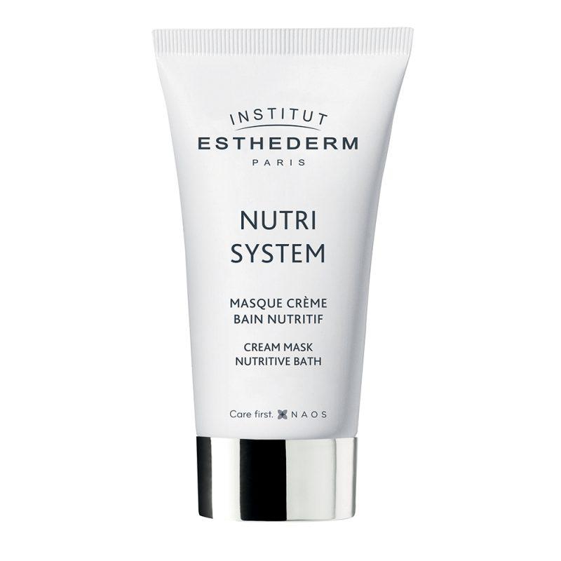 Esthederm – Cream Mask Nutritive Bath – Kremowa intensywnie odżywcza i regenerująca maseczka do twarzy 75 ml