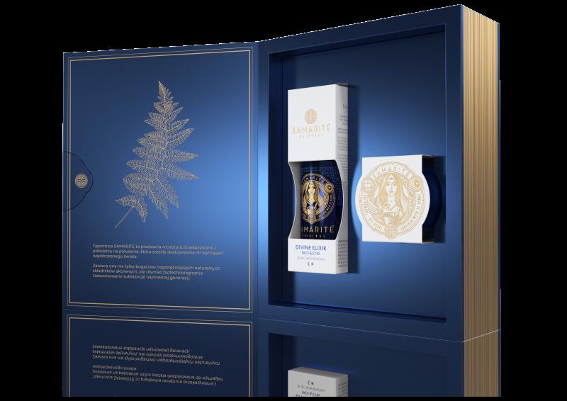 Samarite – Zestaw Świąteczny: Divine Elixir 150 ml + Divine Cream 45 ml