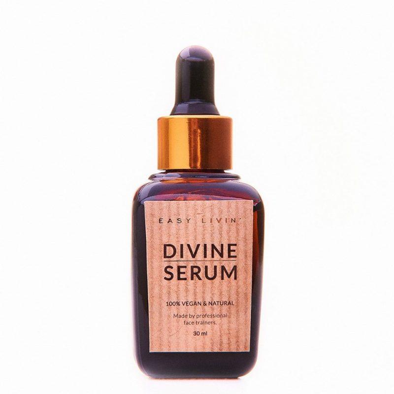 Easy Livin' – Divine Serum Wegańskie Serum Olejowe  do masażu twarzy, 30 ml