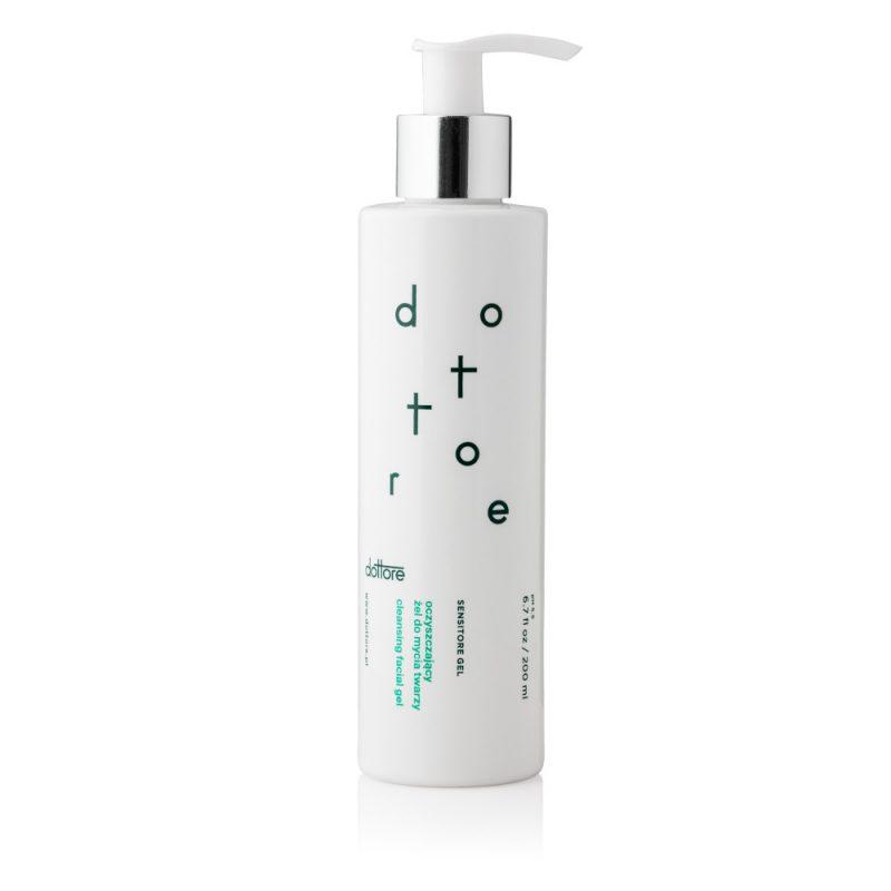 Dottore – SENSITORE GEL – Oczyszczający żel do mycia twarzy, 200ml