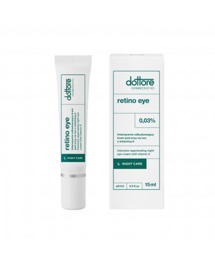 Dottore – RETINO EYE – Intensywnie odbudowujący krem pod oczy na noc (0.03% retinolu), 15ml