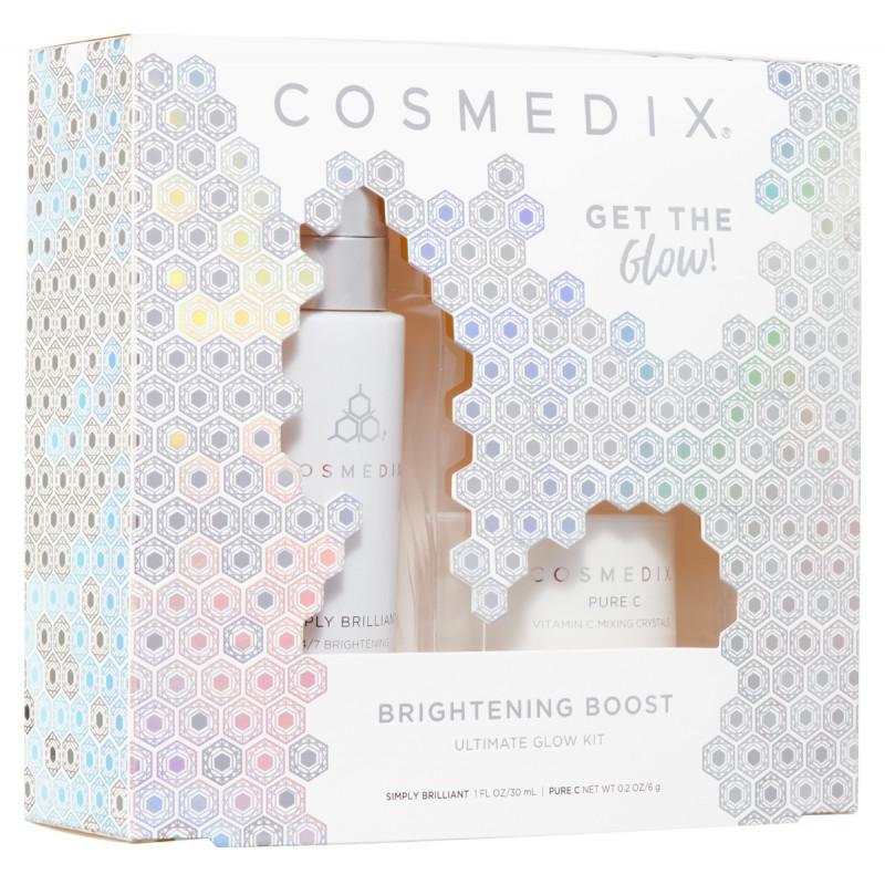 Cosmedix – ZESTAW: BRIGHTENING BOOST KIT – Na przebarwienia