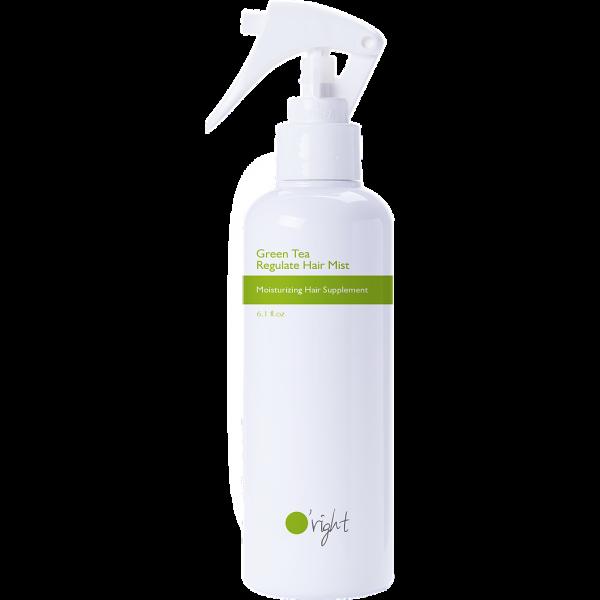 O'right - Green Tea Regulate Hair Mist - Nawilżająca mgiełka z zielonej herbaty do włosów suchych i zniszczonych, 180 ml