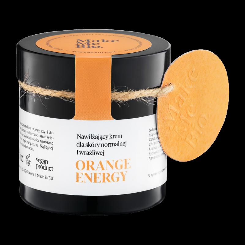 Make Me Bio – Orange Energy – Nawilżający Krem dla Skóry Normalnej i Wrażliwej 60ml, ważność 03/2021