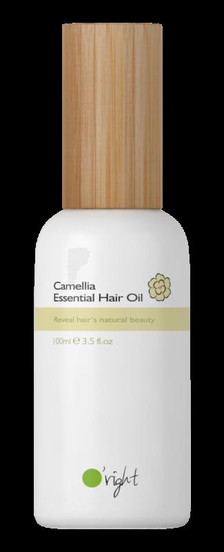 O'right – Essential Hair Oil – Odżywczy olejek do pielęgnacji włosów suchych i zniszczonych, nieobciążający włosów, 100 ml