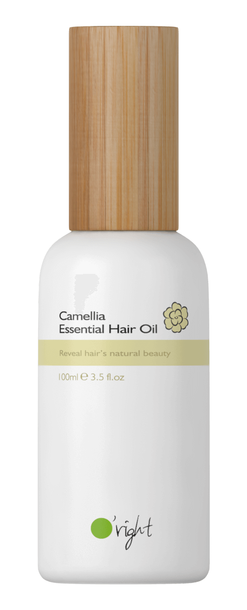O'right - Essential Hair Oil - Odżywczy olejek do pielęgnacji włosów suchych i zniszczonych, nieobciążający włosów, 100 ml