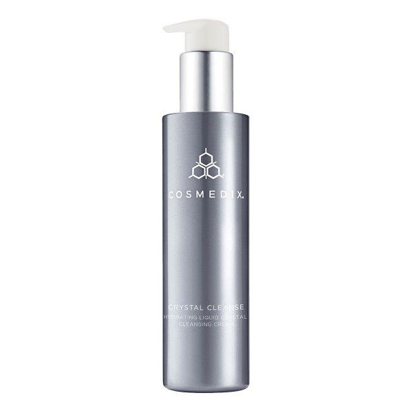 Cosmedix - CRYSTAL CLEANSE - Hydrating Liquid Crystal Cleansing Cream, Emulsja do oczyszczania twarzy z ciekłymi kryształami, 163,5ml