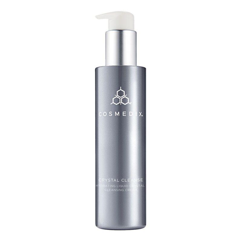 Cosmedix – CRYSTAL CLEANSE  – Hydrating Liquid Crystal Cleansing Cream – Nawilżający krem do oczyszczania twarzy z ciekłymi kryształami, 163,5ml