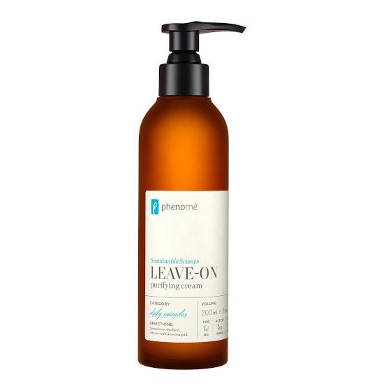 Phenome - LEAVE-ON mleczko oczyszczająco-nawilżające do twarzy, 200ml