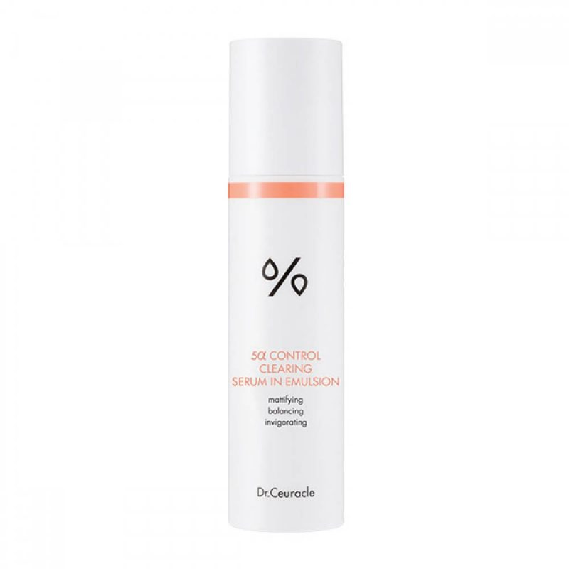 Dr.Ceuracle – 5α Control Clearing Serum in Emulsion – Serum regulujące wydzielanie sebum, 100 ml