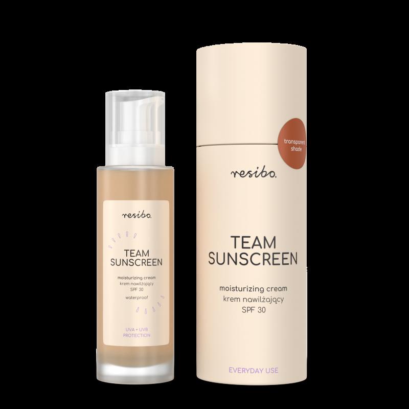 Resibo – Team SunScreen SPF30 – Krem nawilżający z filtrm SPF30, 50ml