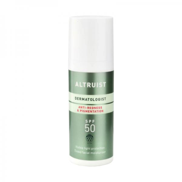 Altruist - Anti-redness & Pigmentation SPF 50 - Krem tonujący do twarzy SPF50, 50ml