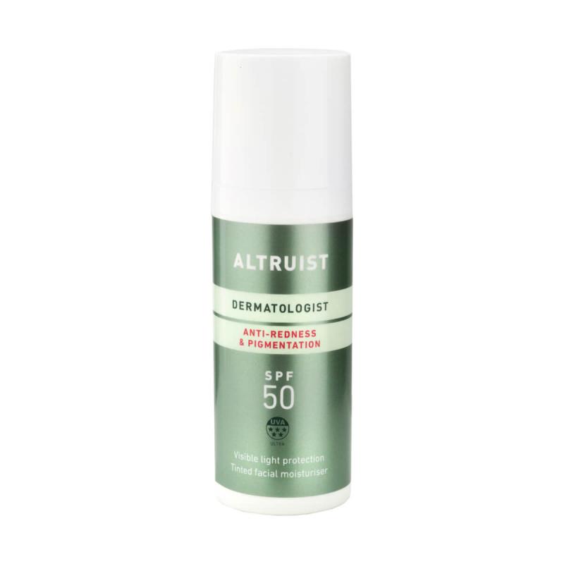 Altruist – Anti-redness & Pigmentation SPF 50 – Krem tonujący do twarzy SPF50, 50ml