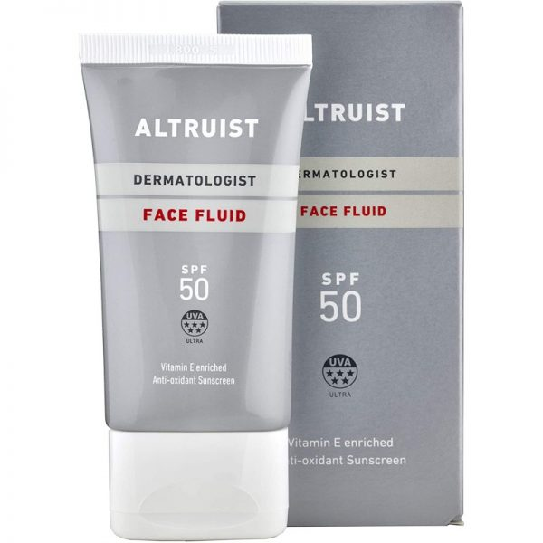 Altruist - Dermatologist Invisible Daily Sunscreen Face Fluid SPF 50 - Lekka emulsja do twarzy SPF 50, 50ml