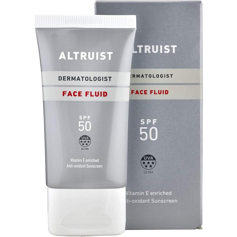Altruist – Dermatologist Invisible Daily Sunscreen Face Fluid SPF 50 – Lekka emulsja do twarzy SPF 50, 50ml