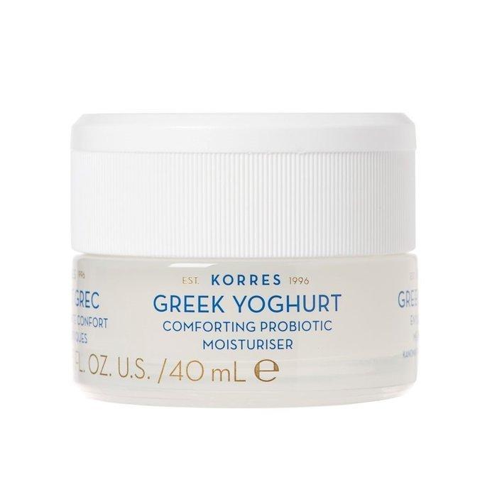 Korres – Greek Yoghurt Probiotic Moisturiser Kojący krem nawilżający z probiotykami dla skóry normalnej i mieszanej, 40 ml