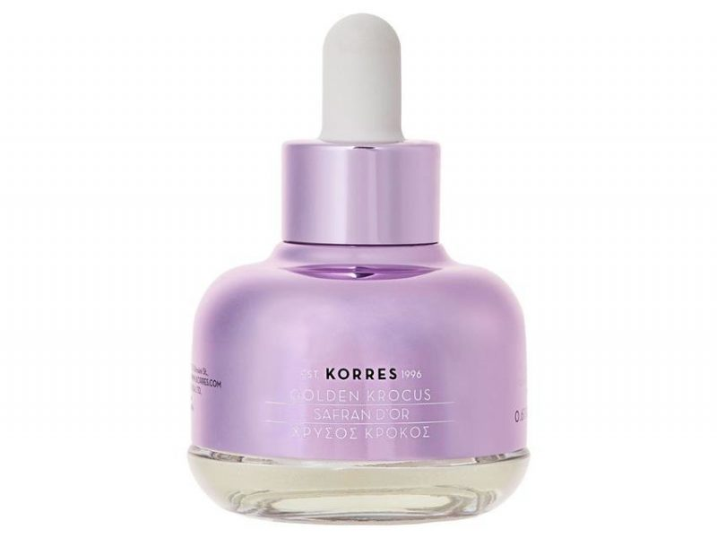 Korres – Golden Krocus Eye Elixir – Eliksir młodości pod oczy z szafranem, 18 ml