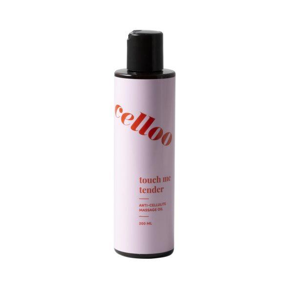 celloo - Celloo Touch Me Tender Anti-cellulite Massage Oil - Antycellulitowy olejek do masażu ciała,200ml