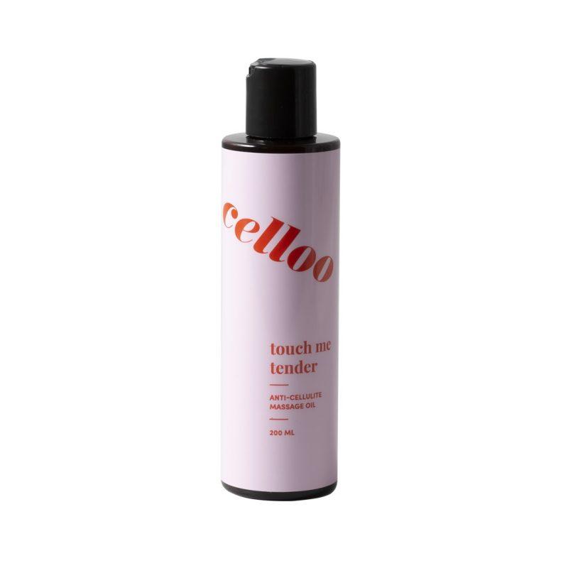 celloo – Celloo Touch Me Tender Anti-cellulite Massage Oil – Antycellulitowy olejek do masażu ciała,200ml