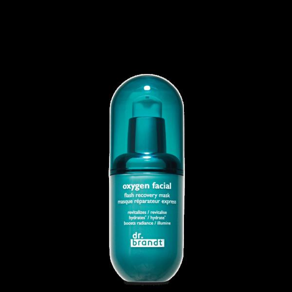 Dr. Brandt - Oxygen Facial Flash Mask - Regenerująca maseczka do twarzy z tlenem, 40 g