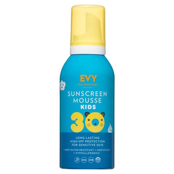 EVY – Sun Mousse SPF30 Kids – Pianka ochronna SPF30 dla dzieci,150 ml