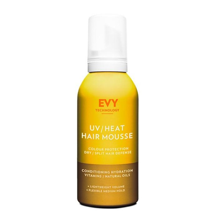 EVY – UV/Heat Hair Mousse – Pianka ochronna do włosów, 150 ml
