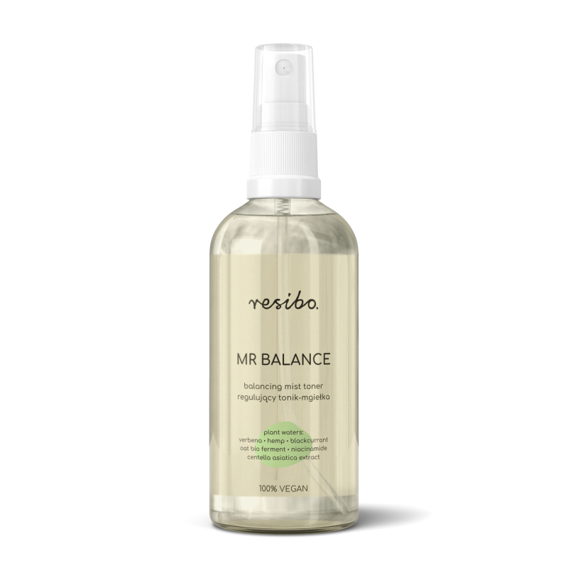Resibo – Mr Balance Regulujący tonik – mgiełka, 100 ml