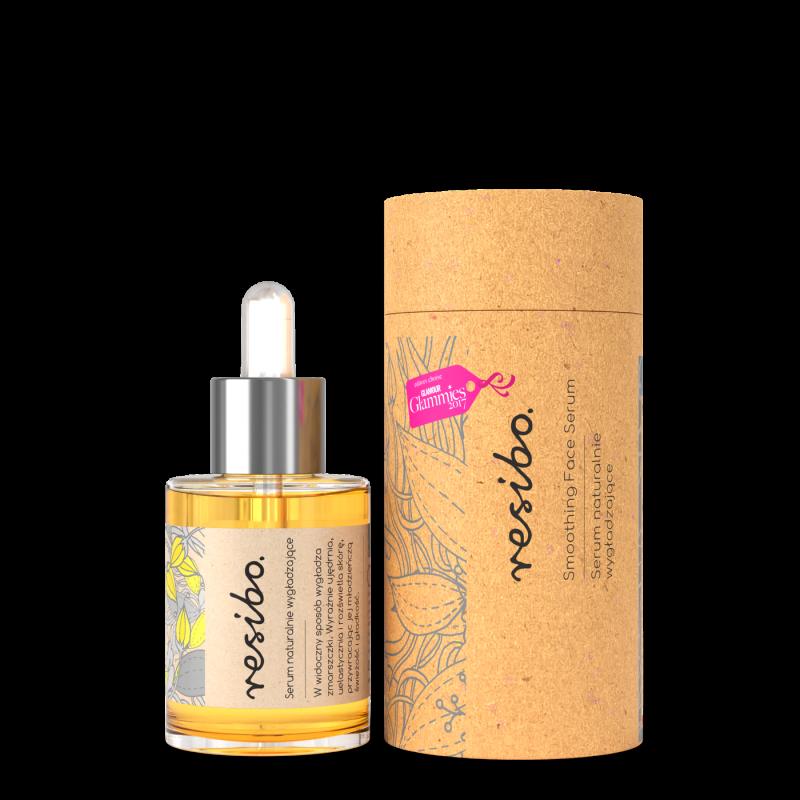 RESIBO – Naturalne wygładzające serum do twarzy 30ml, ważność 09/2021