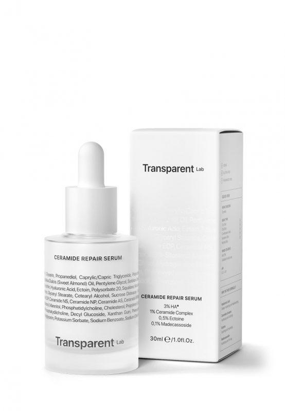 Transparent Lab  – Ceramide Repair Serum – Nawilżające serum z ceramidami, 30ml